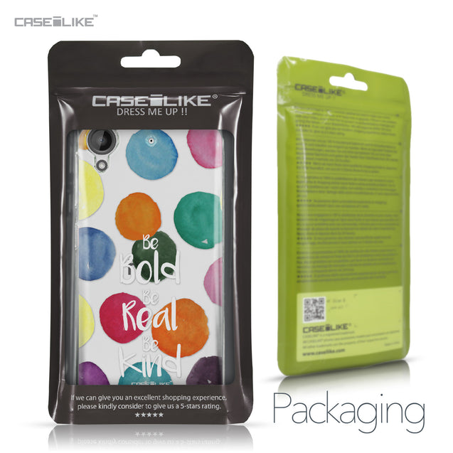 HTC Desire 530 case Quote 2420 Retail Packaging | CASEiLIKE.com