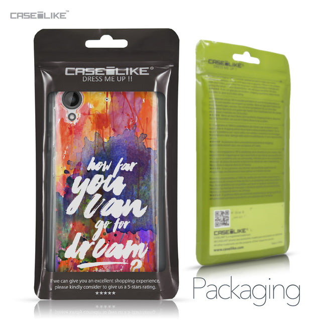 HTC Desire 530 case Quote 2421 Retail Packaging | CASEiLIKE.com