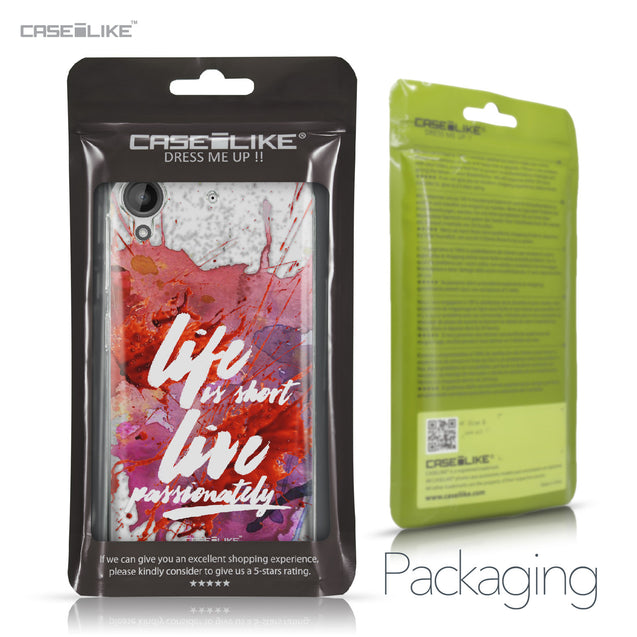 HTC Desire 530 case Quote 2423 Retail Packaging | CASEiLIKE.com