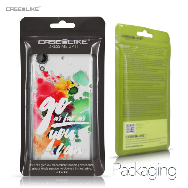 HTC Desire 530 case Quote 2424 Retail Packaging | CASEiLIKE.com