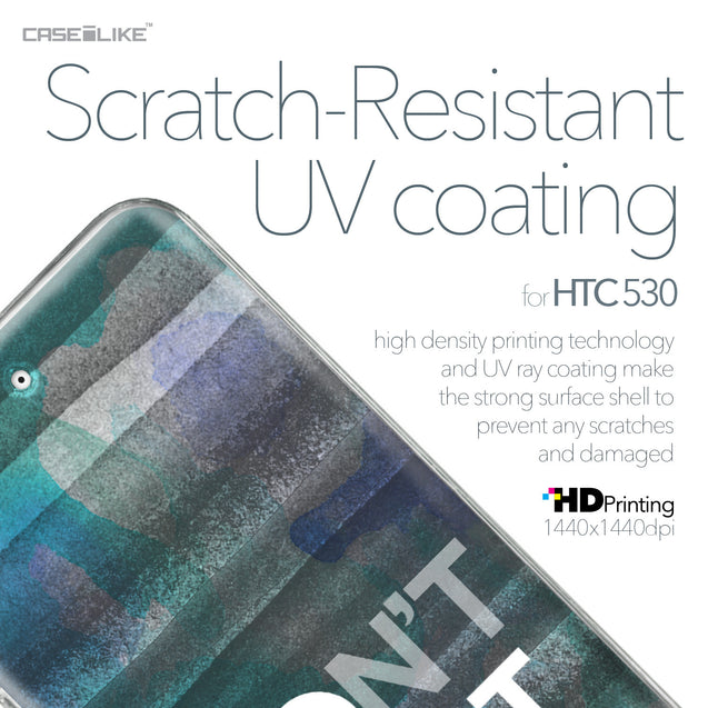 HTC Desire 530 case Quote 2431 with UV-Coating Scratch-Resistant Case | CASEiLIKE.com