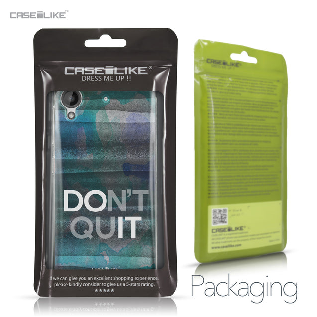 HTC Desire 530 case Quote 2431 Retail Packaging | CASEiLIKE.com