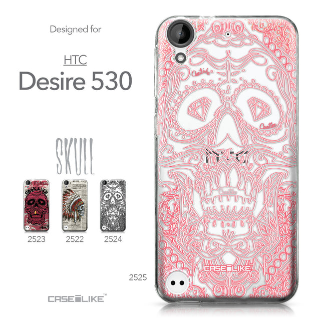 HTC Desire 530 case Art of Skull 2525 Collection | CASEiLIKE.com