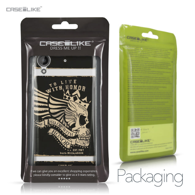 HTC Desire 530 case Art of Skull 2529 Retail Packaging | CASEiLIKE.com