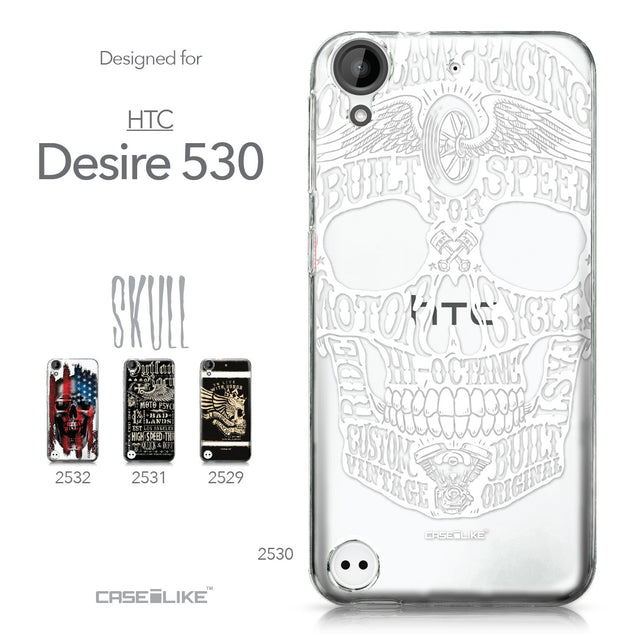 HTC Desire 530 case Art of Skull 2530 Collection | CASEiLIKE.com