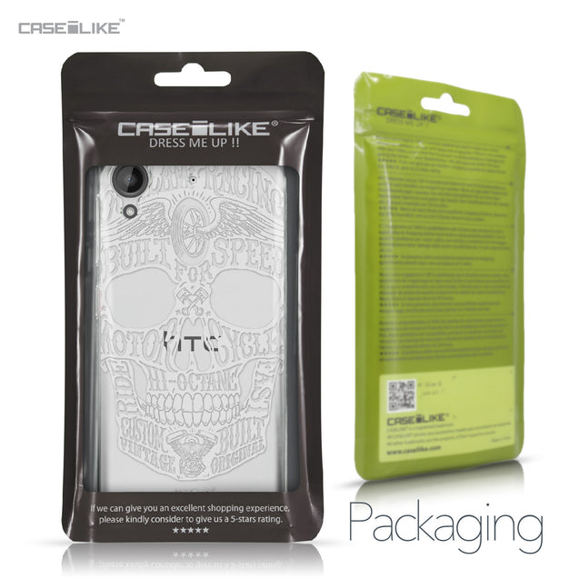 HTC Desire 530 case Art of Skull 2530 Retail Packaging | CASEiLIKE.com