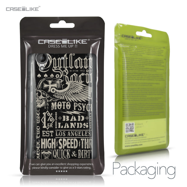 HTC Desire 530 case Art of Skull 2531 Retail Packaging | CASEiLIKE.com
