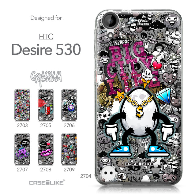 HTC Desire 530 case Graffiti 2704 Collection | CASEiLIKE.com