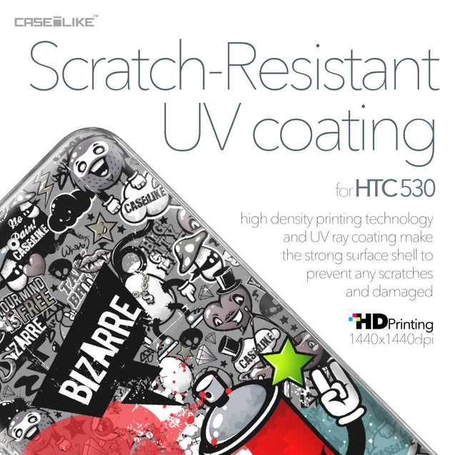 HTC Desire 530 case Graffiti 2705 with UV-Coating Scratch-Resistant Case | CASEiLIKE.com