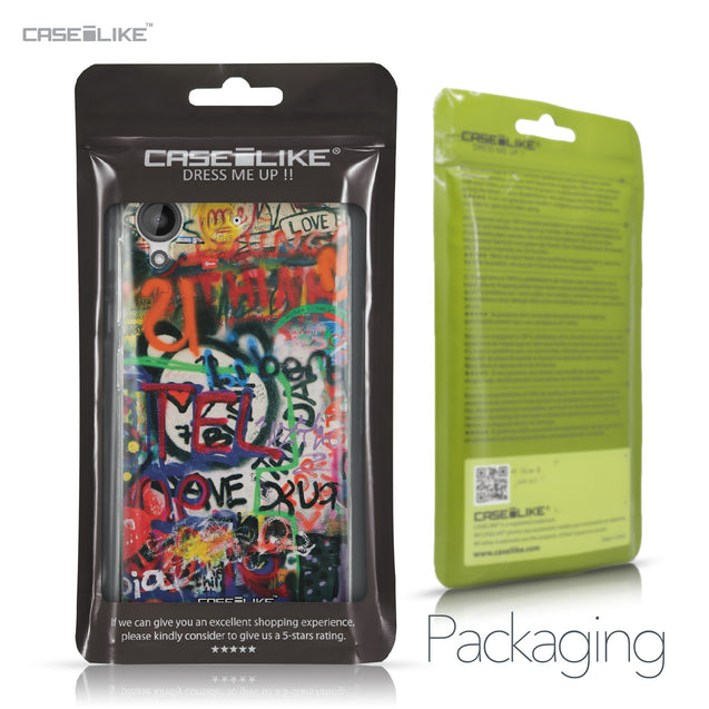 HTC Desire 530 case Graffiti 2721 Retail Packaging | CASEiLIKE.com