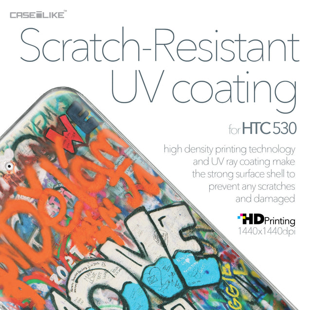 HTC Desire 530 case Graffiti 2722 with UV-Coating Scratch-Resistant Case | CASEiLIKE.com