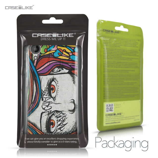 HTC Desire 530 case Graffiti Girl 2725 Retail Packaging | CASEiLIKE.com