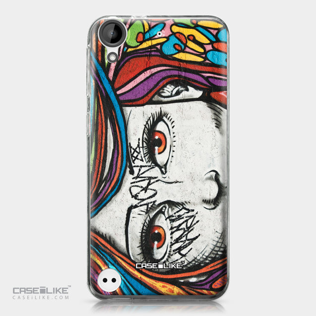 HTC Desire 530 case Graffiti Girl 2725 | CASEiLIKE.com