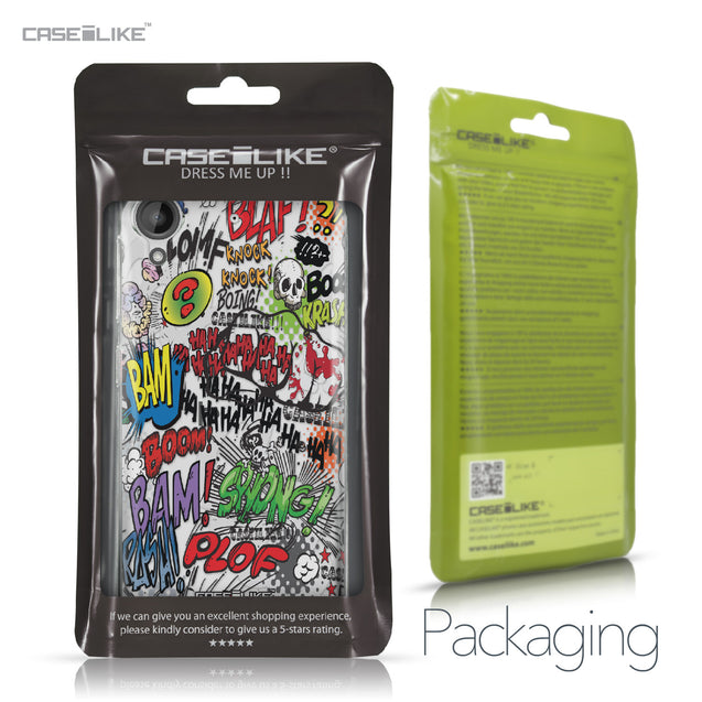 HTC Desire 530 case Comic Captions 2914 Retail Packaging | CASEiLIKE.com