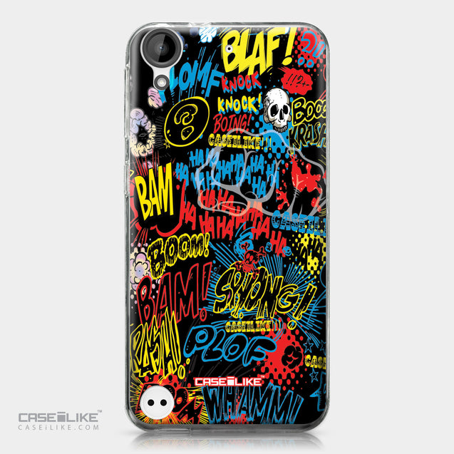 HTC Desire 530 case Comic Captions Black 2915 | CASEiLIKE.com