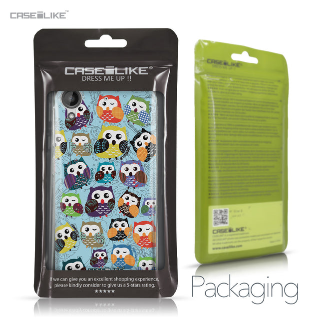 HTC Desire 530 case Owl Graphic Design 3312 Retail Packaging | CASEiLIKE.com