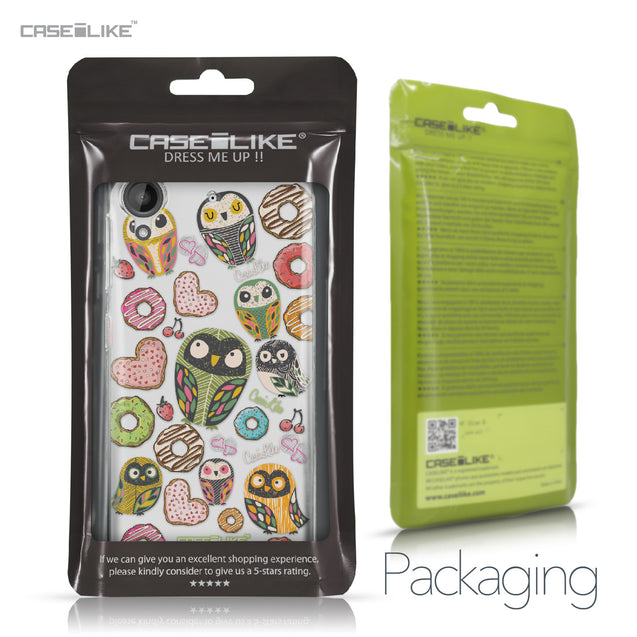 HTC Desire 530 case Owl Graphic Design 3315 Retail Packaging | CASEiLIKE.com