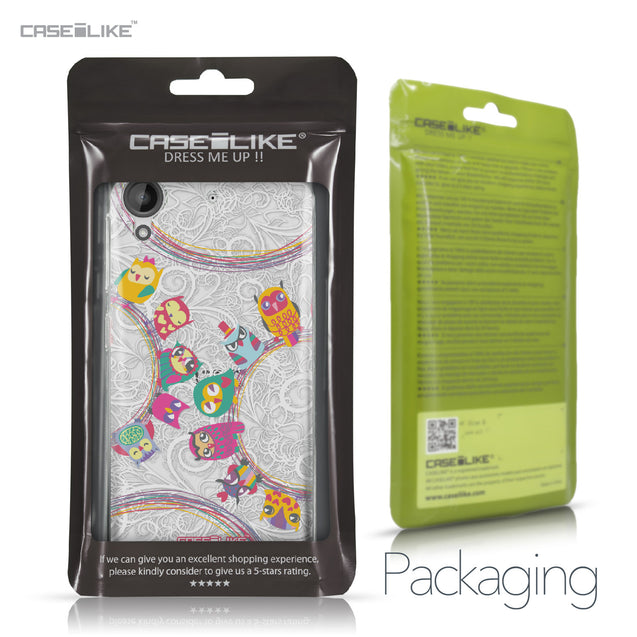HTC Desire 530 case Owl Graphic Design 3316 Retail Packaging | CASEiLIKE.com