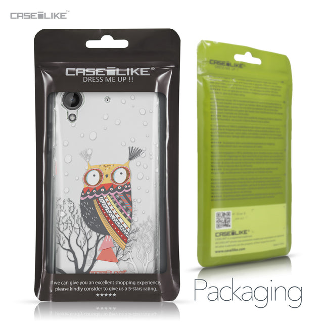 HTC Desire 530 case Owl Graphic Design 3317 Retail Packaging | CASEiLIKE.com