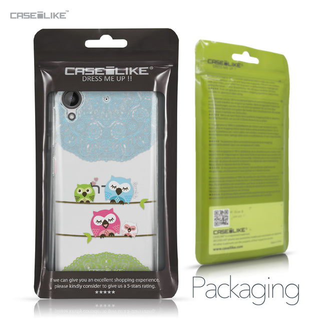 HTC Desire 530 case Owl Graphic Design 3318 Retail Packaging | CASEiLIKE.com