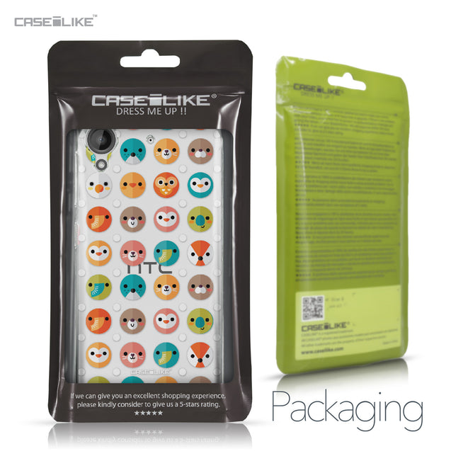 HTC Desire 530 case Animal Cartoon 3638 Retail Packaging | CASEiLIKE.com