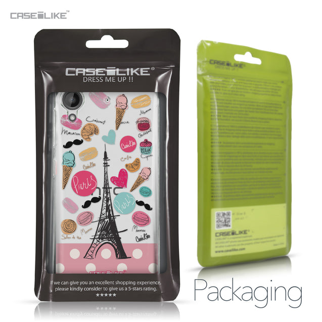 HTC Desire 530 case Paris Holiday 3904 Retail Packaging | CASEiLIKE.com
