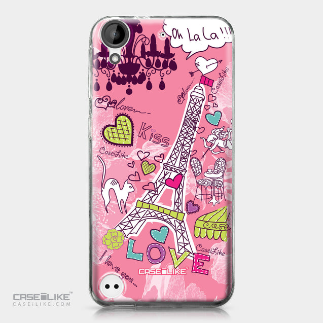 HTC Desire 530 case Paris Holiday 3905 | CASEiLIKE.com