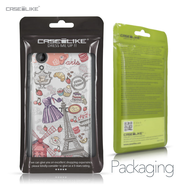 HTC Desire 530 case Paris Holiday 3907 Retail Packaging | CASEiLIKE.com