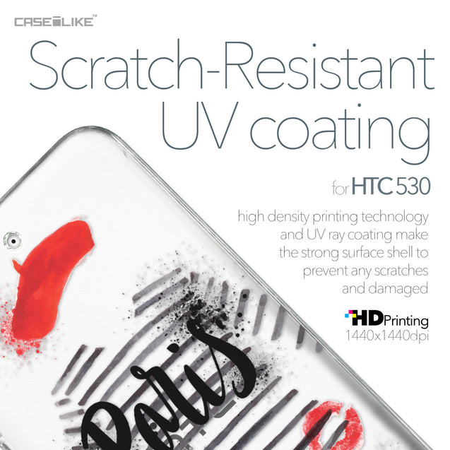 HTC Desire 530 case Paris Holiday 3909 with UV-Coating Scratch-Resistant Case | CASEiLIKE.com
