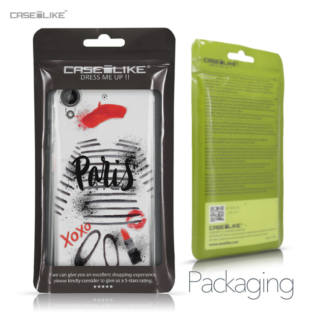 HTC Desire 530 case Paris Holiday 3909 Retail Packaging | CASEiLIKE.com
