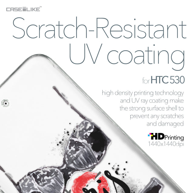 HTC Desire 530 case Paris Holiday 3910 with UV-Coating Scratch-Resistant Case | CASEiLIKE.com