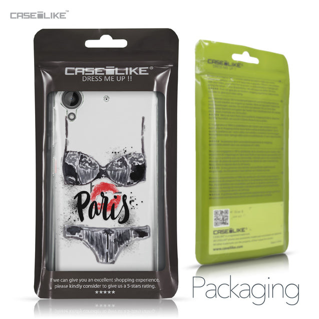 HTC Desire 530 case Paris Holiday 3910 Retail Packaging | CASEiLIKE.com