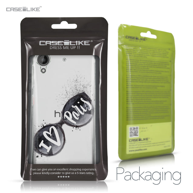 HTC Desire 530 case Paris Holiday 3911 Retail Packaging | CASEiLIKE.com