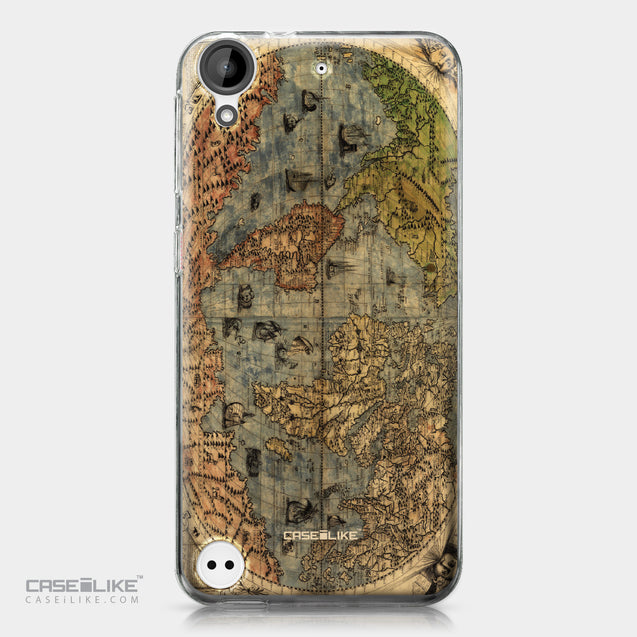 HTC Desire 530 case World Map Vintage 4608 | CASEiLIKE.com