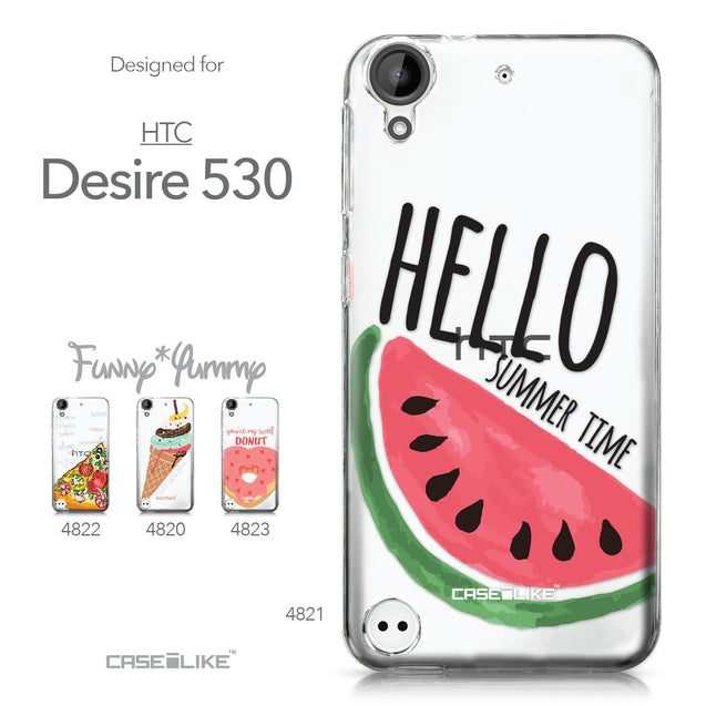 HTC Desire 530 case Water Melon 4821 Collection | CASEiLIKE.com