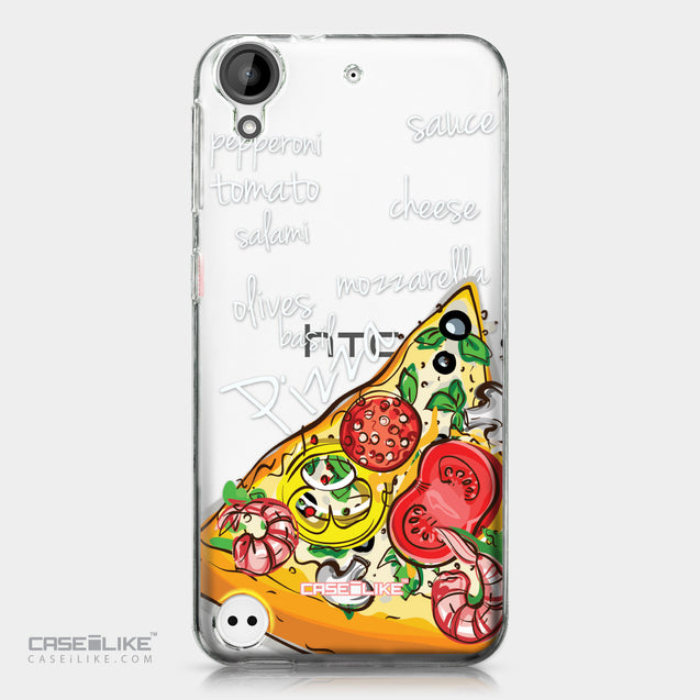 HTC Desire 530 case Pizza 4822 | CASEiLIKE.com