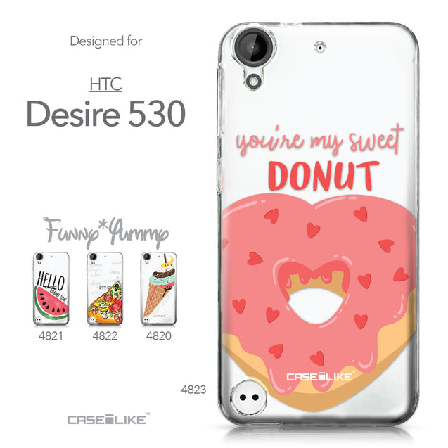 HTC Desire 530 case Dounuts 4823 Collection | CASEiLIKE.com