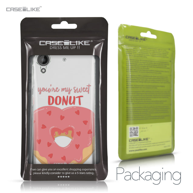 HTC Desire 530 case Dounuts 4823 Retail Packaging | CASEiLIKE.com