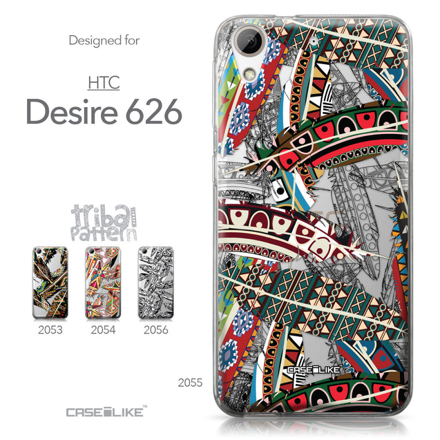 HTC Desire 626 case Indian Tribal Theme Pattern 2055 Collection | CASEiLIKE.com