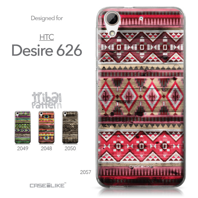 HTC Desire 626 case Indian Tribal Theme Pattern 2057 Collection | CASEiLIKE.com