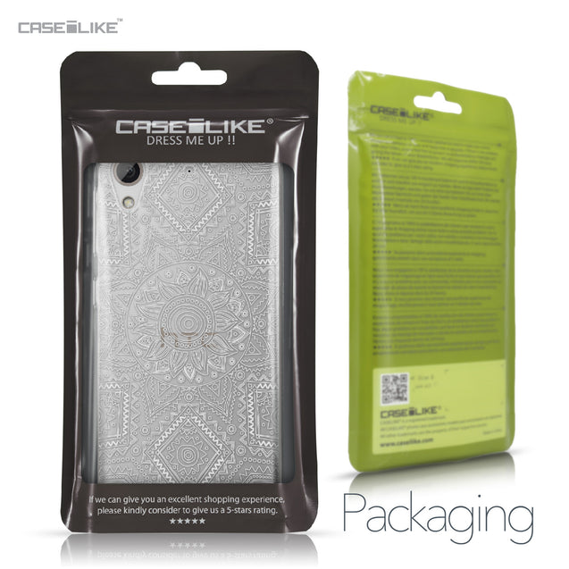 HTC Desire 626 case Indian Line Art 2061 Retail Packaging | CASEiLIKE.com