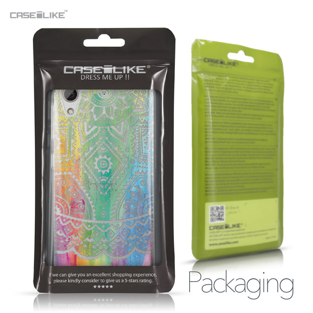 HTC Desire 626 case Indian Line Art 2064 Retail Packaging | CASEiLIKE.com