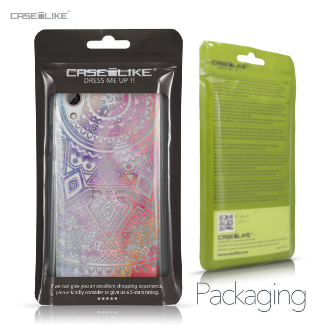 HTC Desire 626 case Indian Line Art 2065 Retail Packaging | CASEiLIKE.com