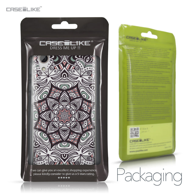 HTC Desire 626 case Mandala Art 2095 Retail Packaging | CASEiLIKE.com