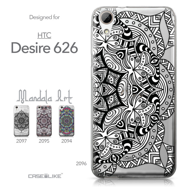 HTC Desire 626 case Mandala Art 2096 Collection | CASEiLIKE.com