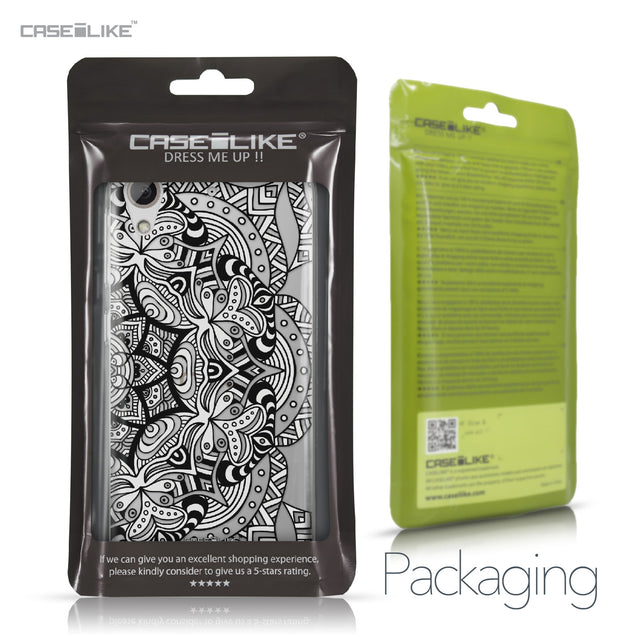 HTC Desire 626 case Mandala Art 2096 Retail Packaging | CASEiLIKE.com