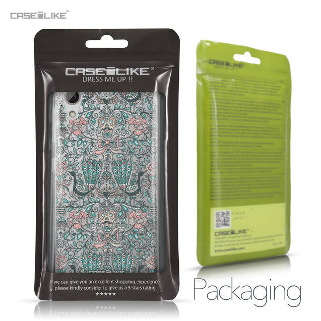 HTC Desire 626 case Roses Ornamental Skulls Peacocks 2226 Retail Packaging | CASEiLIKE.com