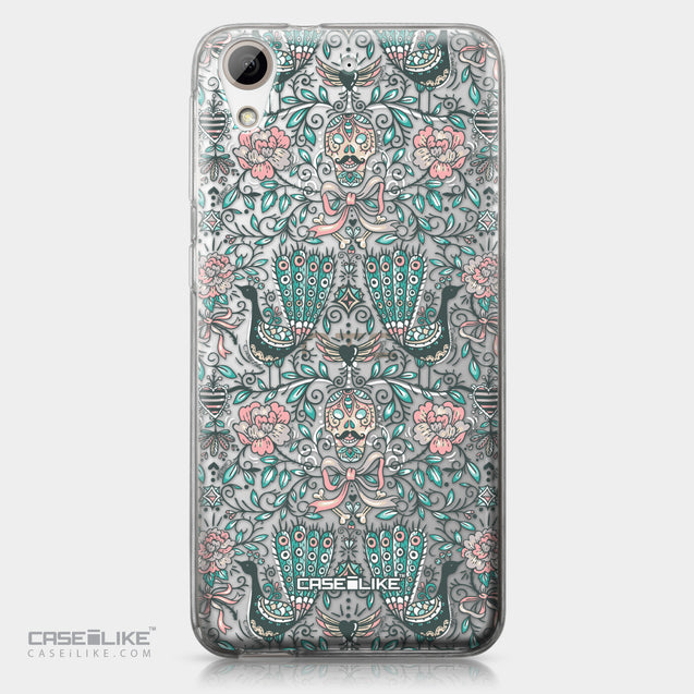 HTC Desire 626 case Roses Ornamental Skulls Peacocks 2226 | CASEiLIKE.com