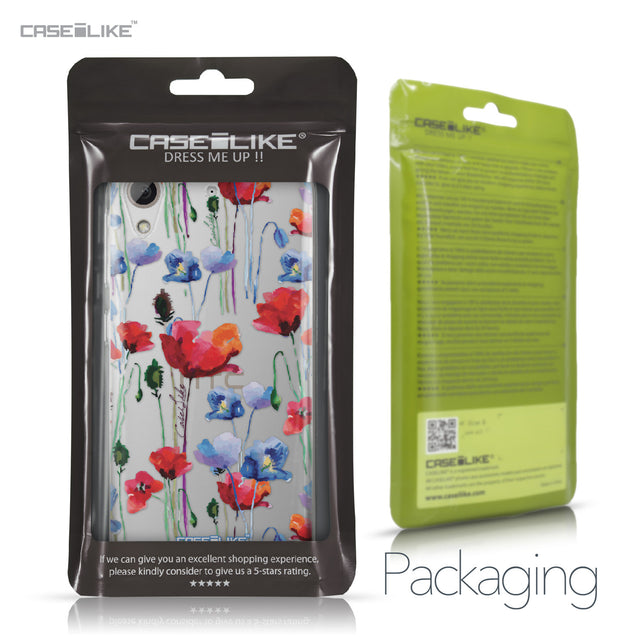 HTC Desire 626 case Watercolor Floral 2234 Retail Packaging | CASEiLIKE.com