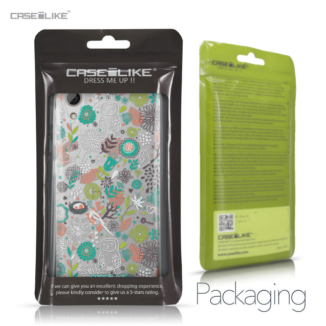 HTC Desire 626 case Spring Forest White 2241 Retail Packaging | CASEiLIKE.com